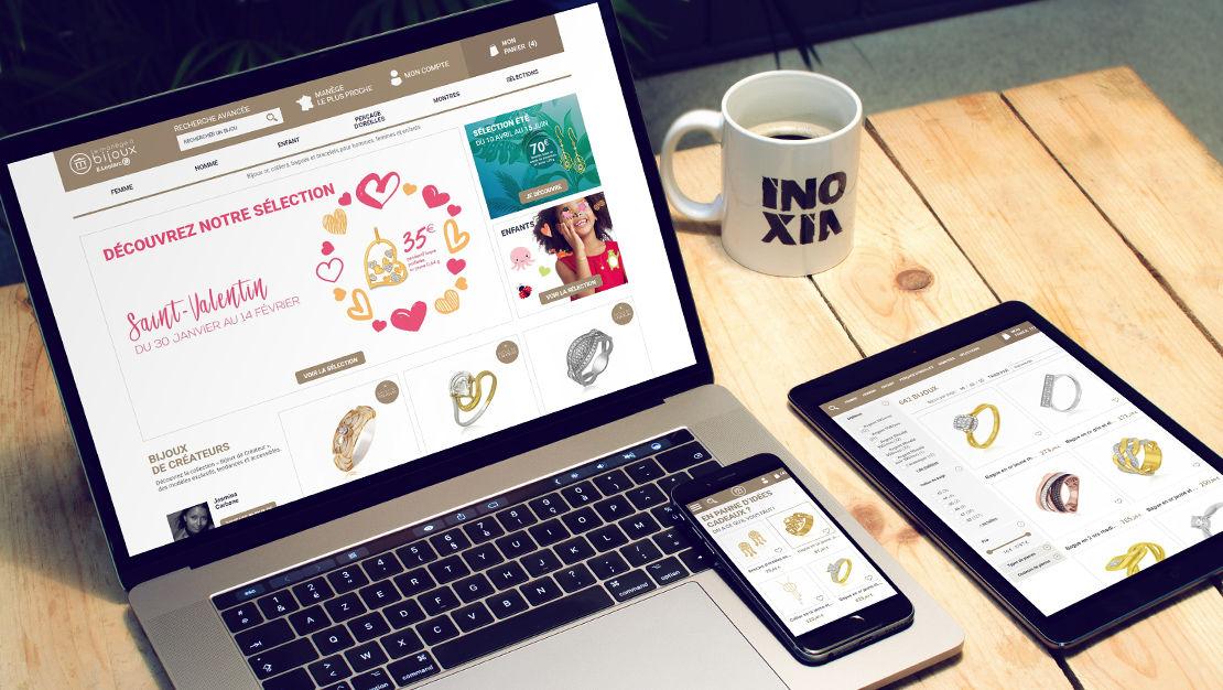Site e-commerce responsive sous Prestashop pour Le Manège à Bijoux